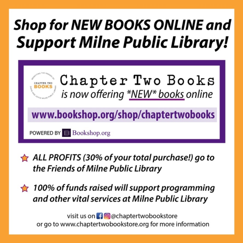 announcement of affiliate program with bookshop.org